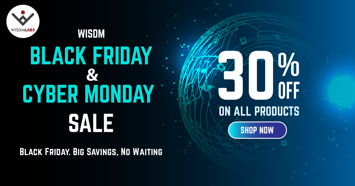 WisdmLabs - Black Friday Deal 2019