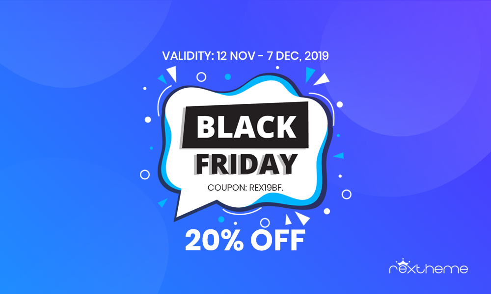 RexTheme - Black Friday Deal 2019