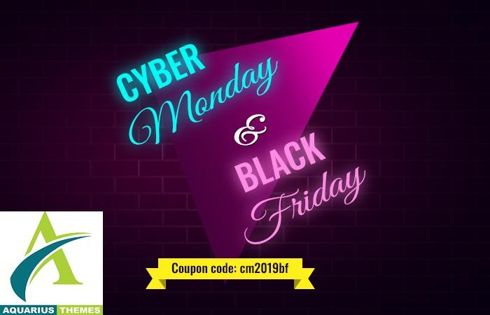 aquarius themes black friday - 60+ Best WordPress Black Friday & Cyber Monday Deals 2019 - Upto 75% OFF