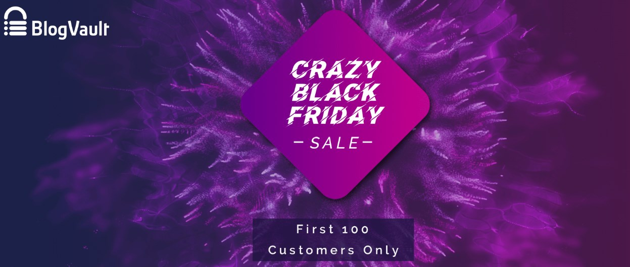 BlogVault - Black Friday Deal 2019
