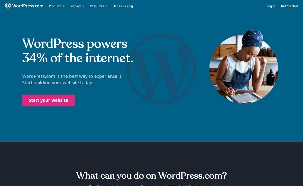 WordPress.com - Best Blogging Platforms