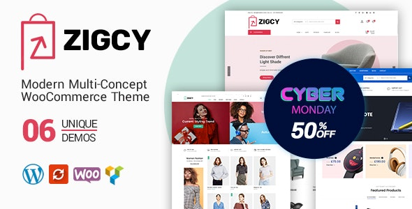 zigcy black friday sale - 60+ Best WordPress Black Friday & Cyber Monday Deals 2019 - Upto 75% OFF