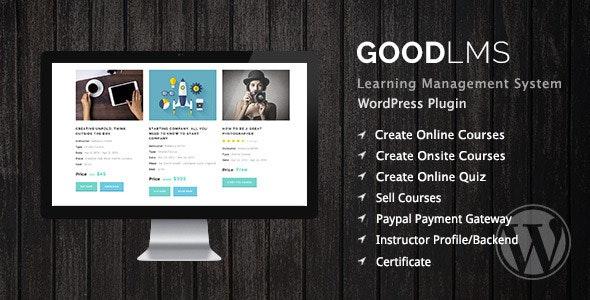 Good LMS - Best WordPress LMS Plugin