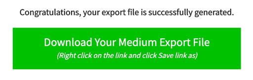 medium export file - How to Move Your Blog From Medium to WordPress