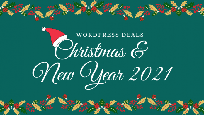 WordPress Christmas and New Year Deals 2021