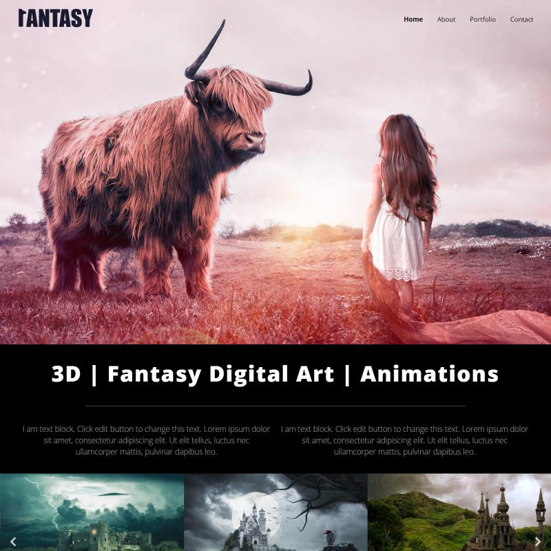 Fantasy - Elementor WordPress Theme