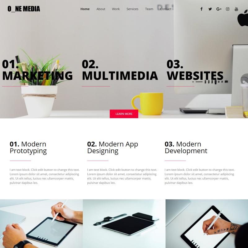 One Media - Elementor WordPress Theme