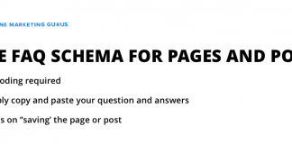 FAQ Schema WordPress plugin