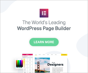 Elementor - Best WordPress Page Builder