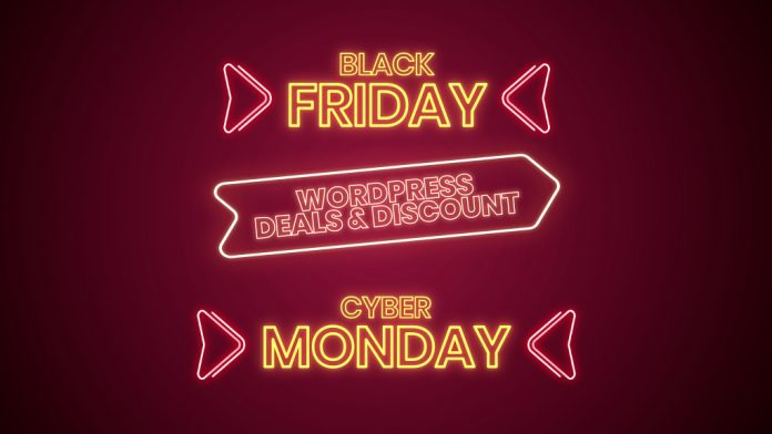 Black Friday Cyber Monday Deals on WordPress 2020