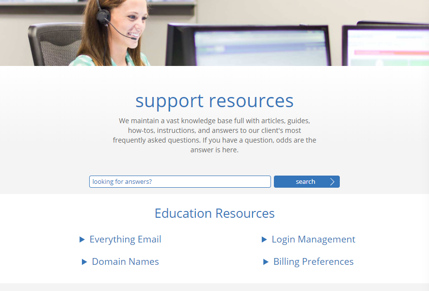 BlueHost - Support Resources