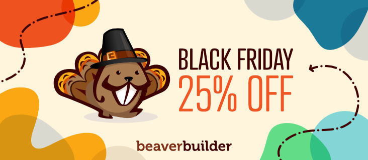 Beaver Builder - Black Friday Deal