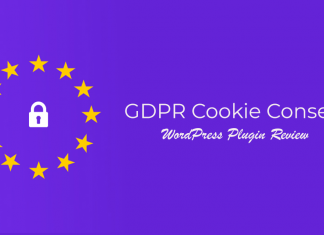GDPR Cookie Consent WordPress Plugin Review