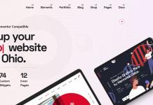 Ohio - Creative Portfolio and Agency WordPress Theme