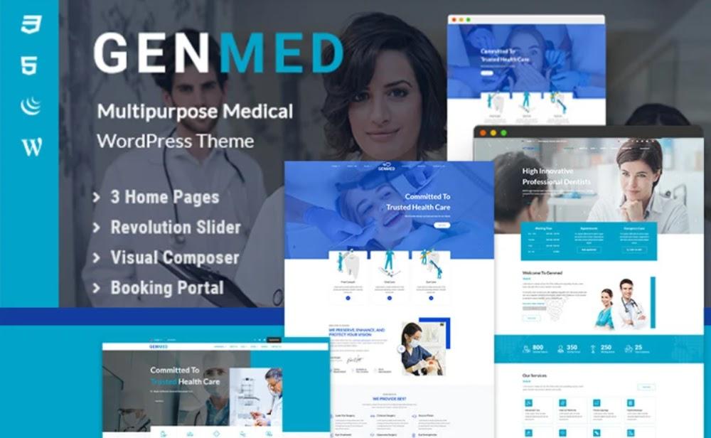 Genmed - Multipurpose Medical WordPress Theme
