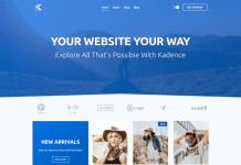 Kadence Free WordPress Theme