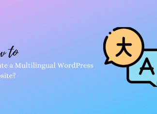 How to Create a Multilingual WordPress Website