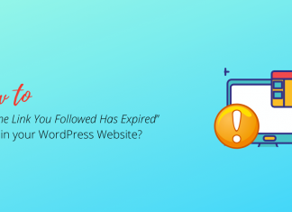 How to Fix The Link You Followed Has Expired Error in WordPress Website