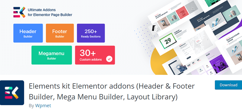 Elements Kit Elementor Addons - Best Elementor Addons & Extensions