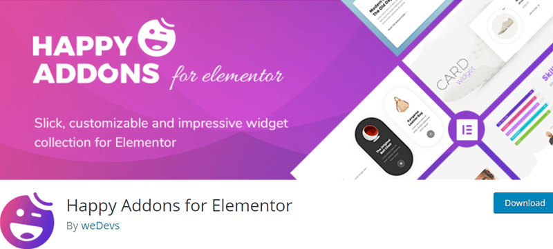 Happy Addons for Elementor - Best Elementor Addon & Extension