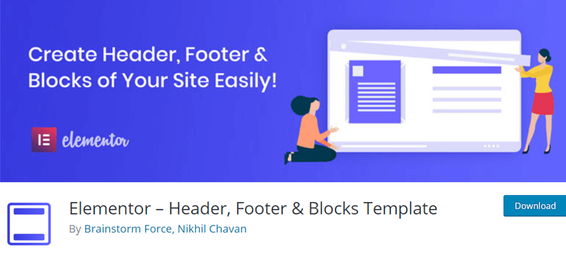 Elementor Header Footer and Block Templates - Best Elementor Addons & Extensions