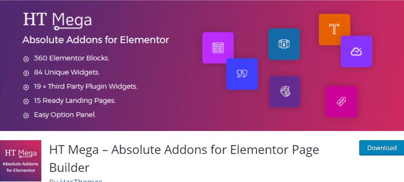 HT Meta Elementor - Best Elementor Addon & Extension