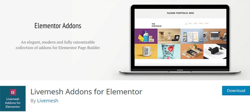 Livemesh Addons for Elementor - Best Elementor Addon & Extension