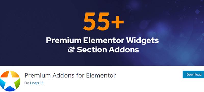 Premium Addons for Elementor - Best Elementor Addons & Extensions