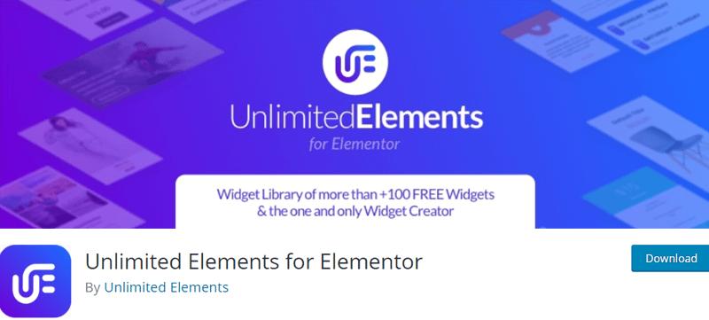 Unlimited Elements for Elementor - Best Elementor Addon & Extension