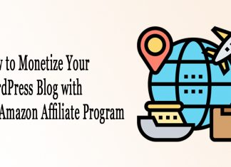 How to Monetize your WordPress Blog with the Amazon Affiliate Program